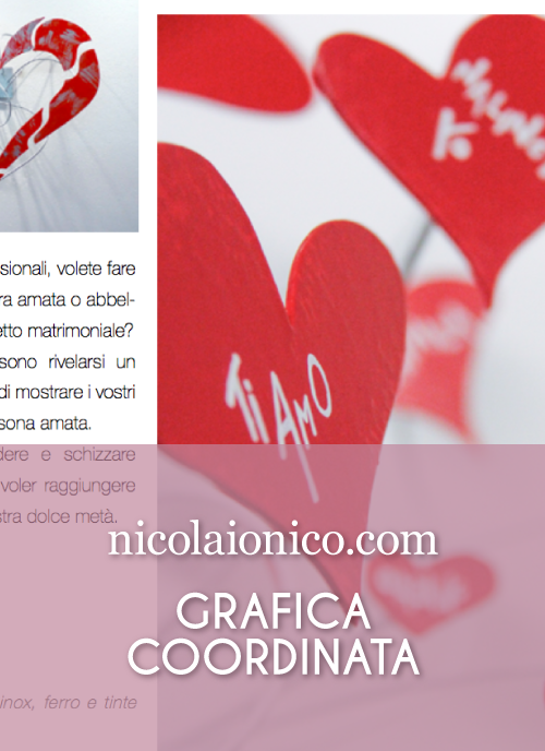 Nicola Ionico — Brochure a cura di Katia Coppo